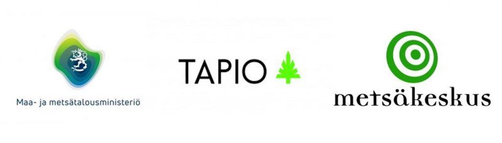 MMM, Tapio ja Suomen metsäkeskus logot